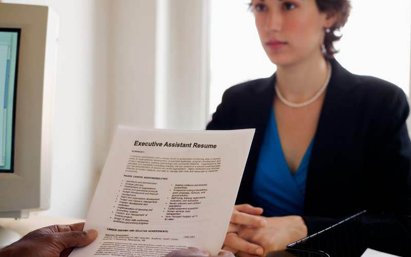 Career Objective In Executive Assistant Resume