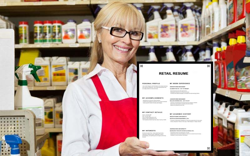 Career Objective In Retail Resume
