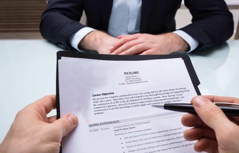 career objective in resumes